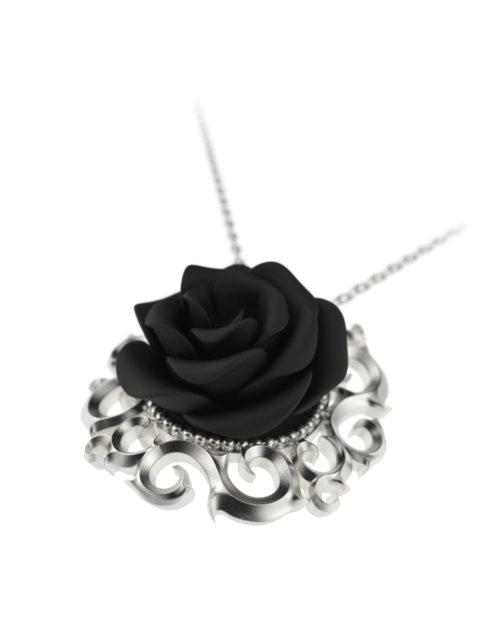 Väi Ruusu pendant by Väisänen Design, angle