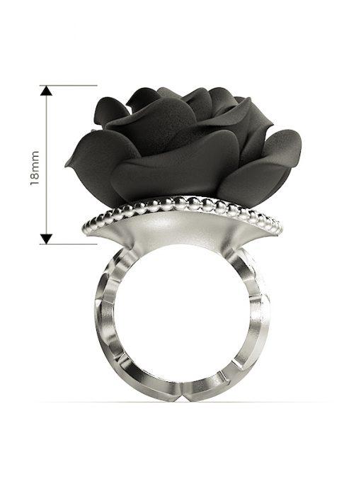 Väi Ruusu ring by Väisänen Design, front