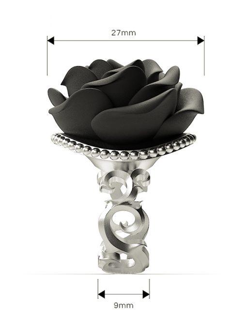 Väi Ruusu ring by Väisänen Design, side